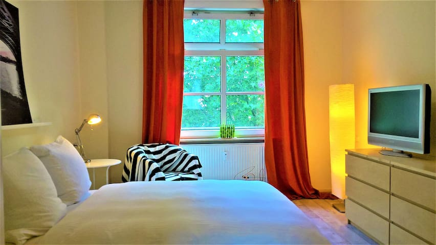 quiet&near station&Rhine river B&B kids welcome