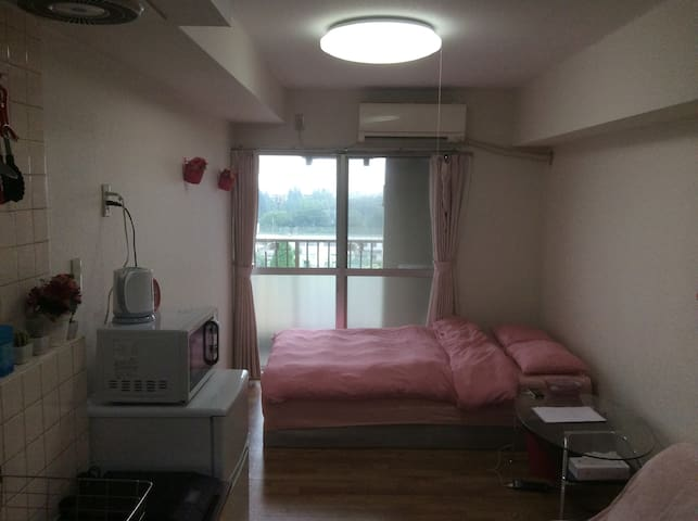 Monthly apartment! Near Shibuya  Quiet,11fl  Wi-Fi