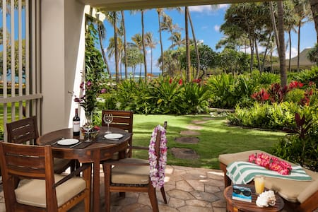 Villa 105 Beach Level Studio Direct Ocean Views - カフク