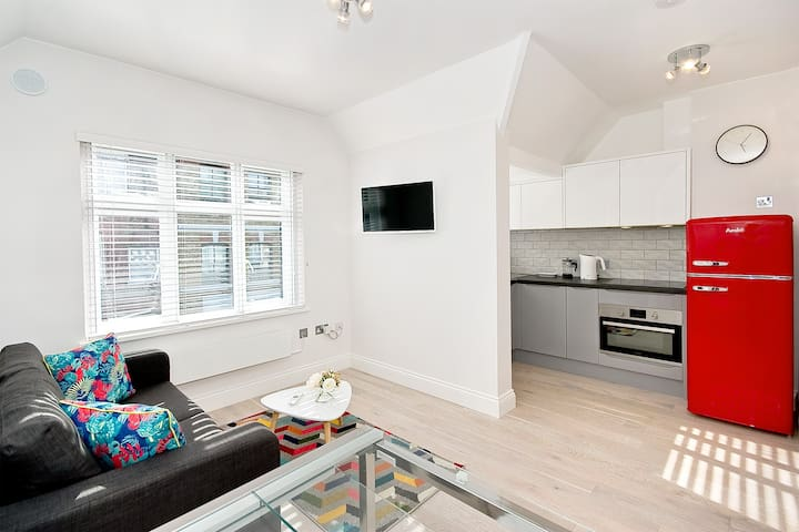 F5G Bright and convenient 1 bed with wifi