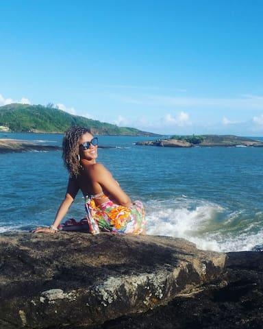 Setiba - Guarapari -  entre o mar e a nutureza