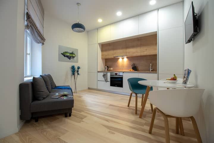 ⚜️ Trendy apartment in the vibrant centre