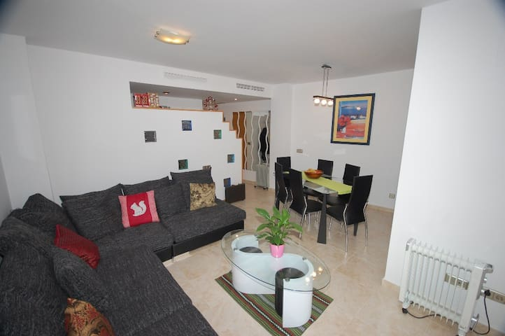 Cozy and comfortable holiday apartment with views - El Verger - Apartment