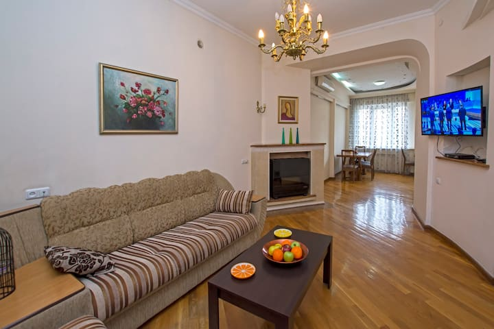 Two-Bedroom Apartment with Balcony - Yerevan - Appartement
