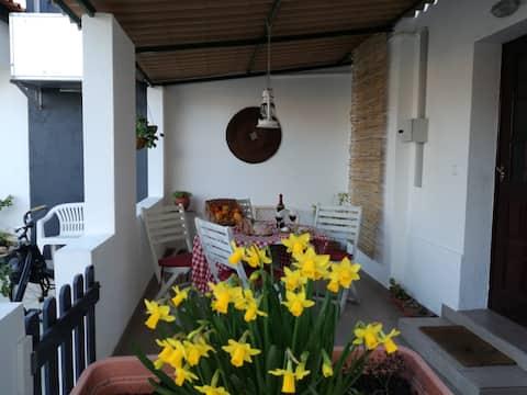 Pátio da Memória-Casa do pintor/jacuzzi Poço novo