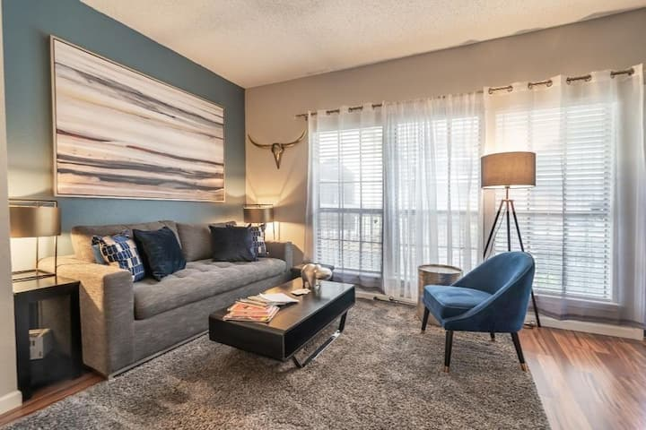 Dallas 💎 near airport🤠 Kid+Pet Friendly❤️(Monthly)