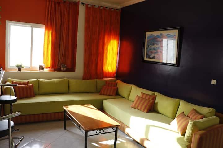 Appartement moderne à Plage Achakar - Tanger