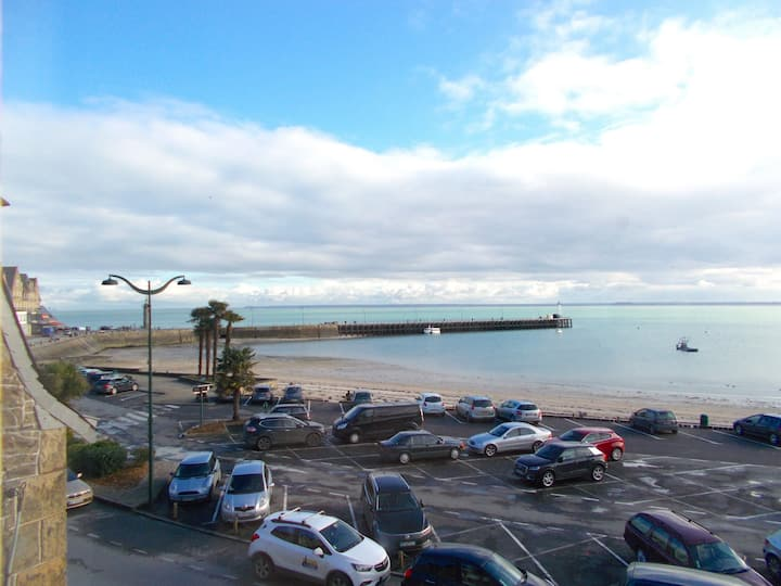 Studio 2 pers Cancale vue mer