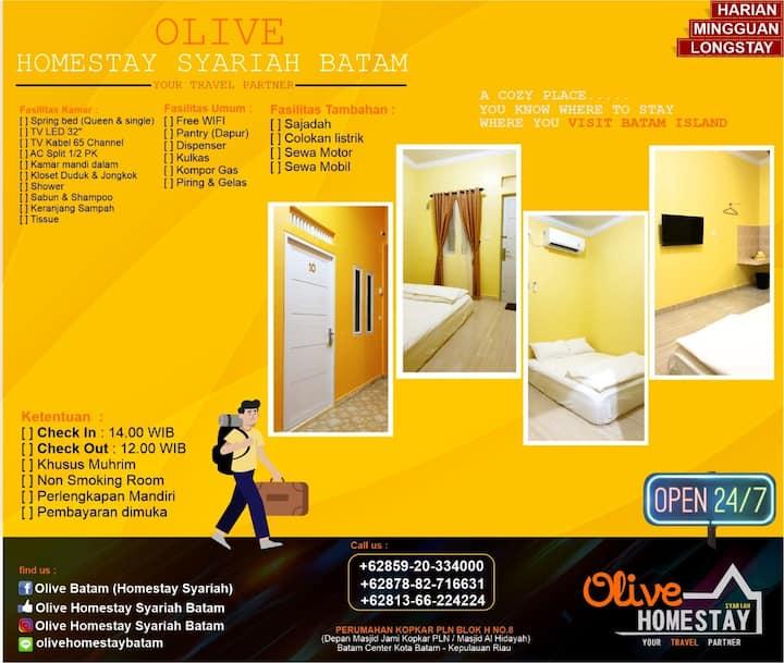 Olive Homestay Syariah Batam