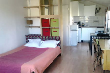 Joli studio centre ville de Brunoy, 30mn de Paris - Brunoy - Appartement