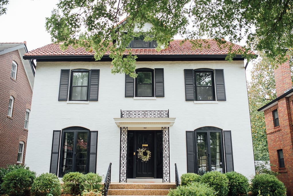 Our classic three story home in the heart of St. Louis