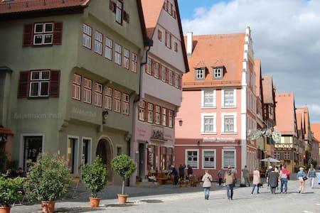 Altstadtapartment Dinkelsbühl 63m² - Dinkelsbühl - Leilighet