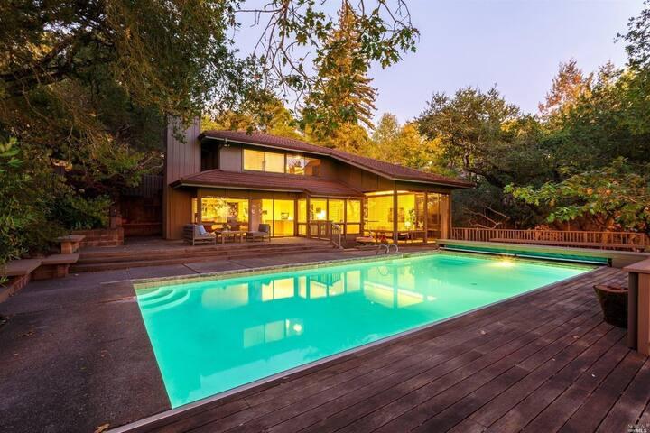 Haven: Lux Design, All-Season Heated Pool, Gigabit