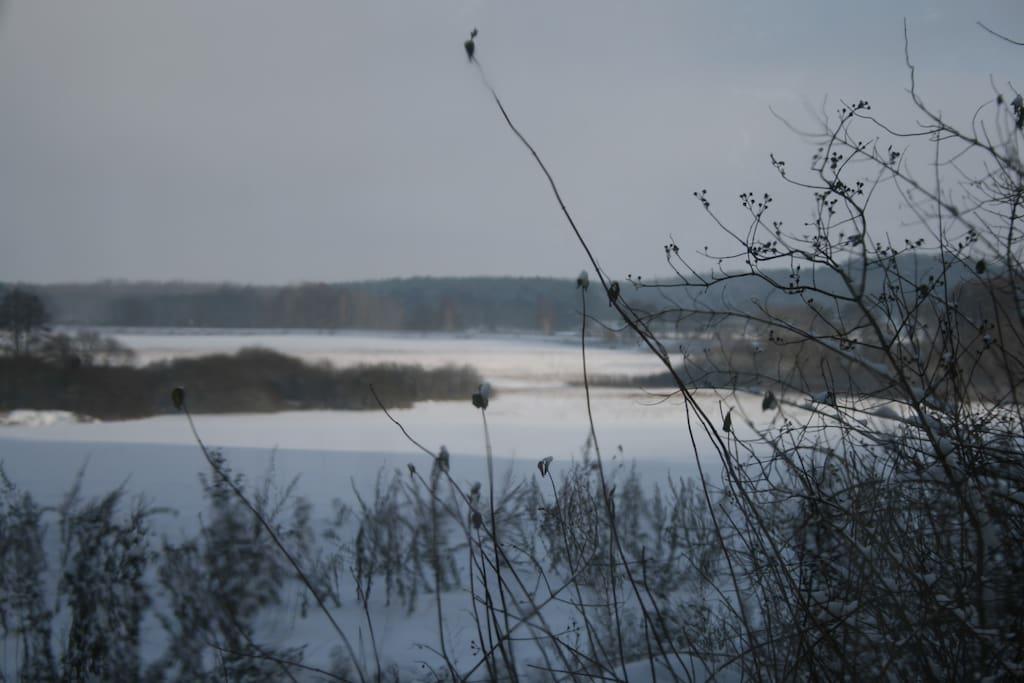 Schneelandschaft in Serwest