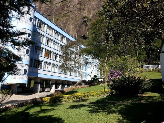 Apartamento com vista para natureza e CBF - Teresópolis - Apartamento