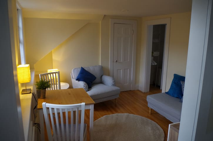 Sunny 1-bed apt in central Boston's Bay Village