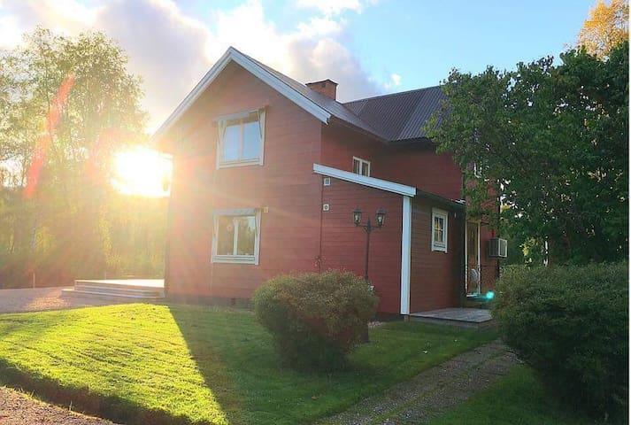 Modernt, nära Klarälven, Branäs, Hovfjället