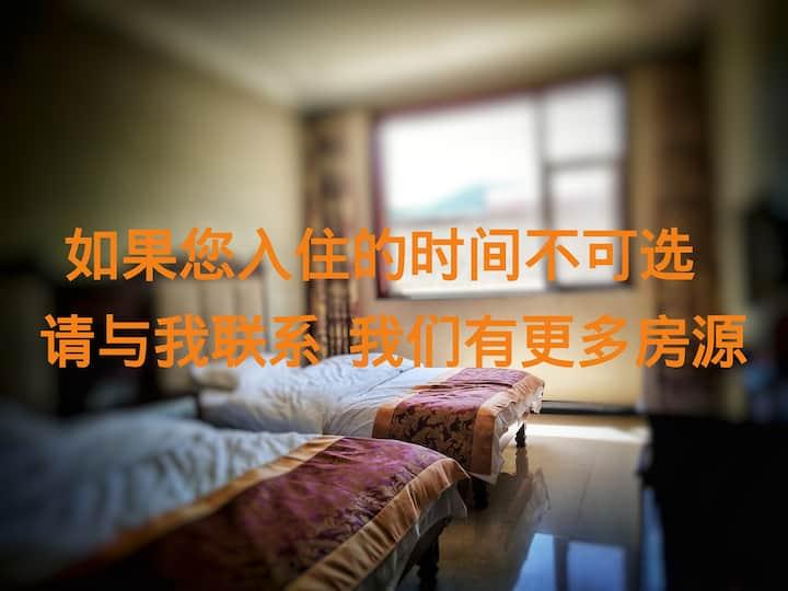 五台山 山.遇民宿  / 宽床舒适标间  *感受佛国的凉意与梵静吧!