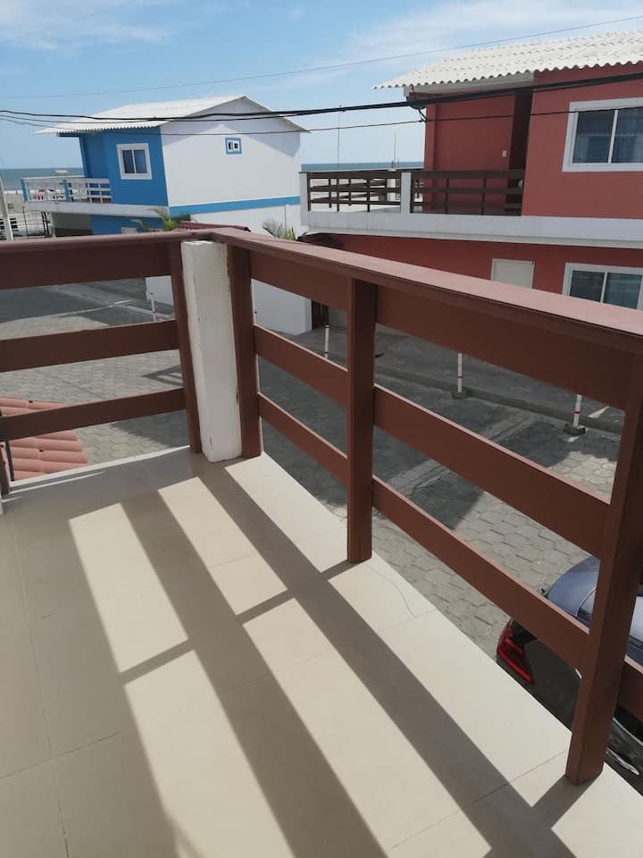 Casa con playa privada en urb. privada y segura