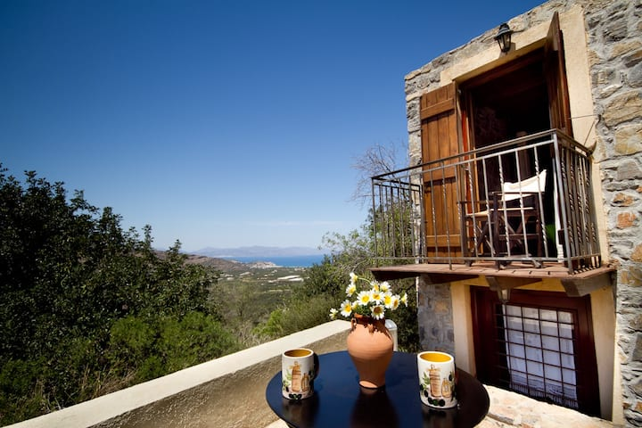 Traditional guest house with amazing view
