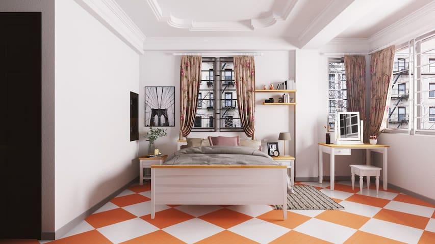 HM house - 2br luxury apartment *near Hong river