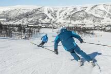 Slalomløypene på Geilo har høy standard, her finner du løyper for alle behov.