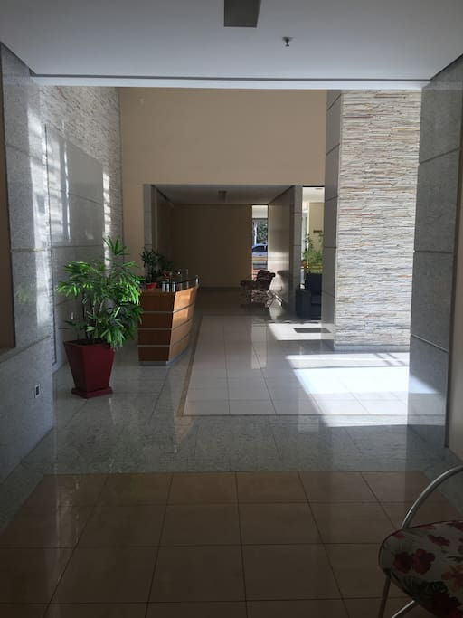portaria do edifício