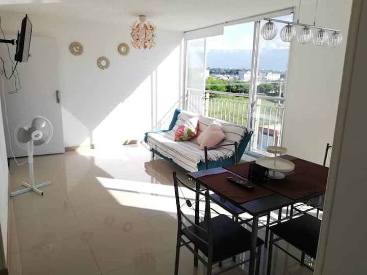 Acojedor y cómodo apartamento