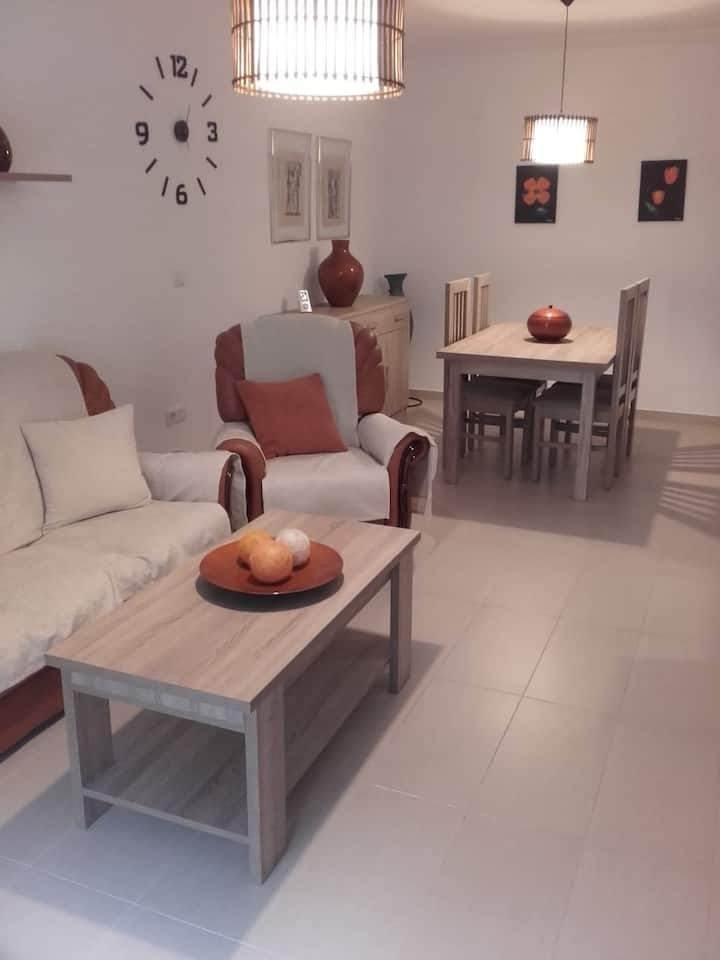 Apartment with private parking in Baeza's old town