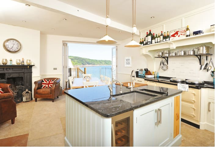 Marina House, Cawsand - Waterfront Property