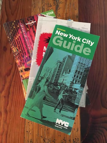 Travel guides for the Big Apple