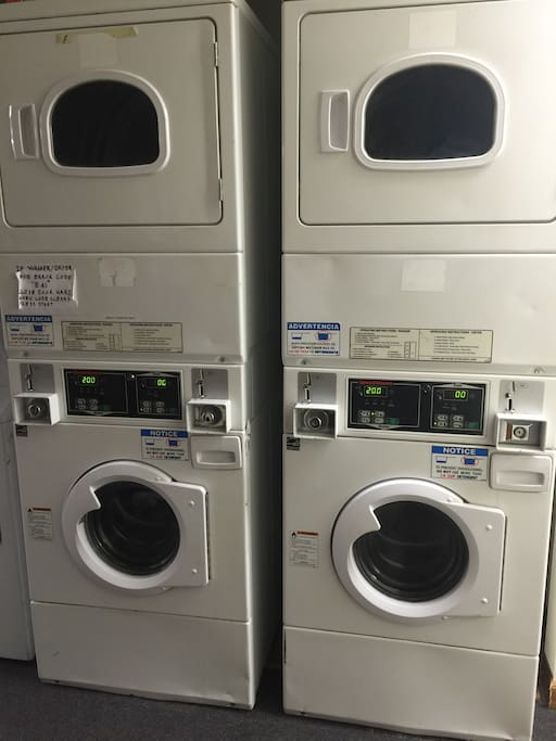 Coin Op Washer/Dryer units