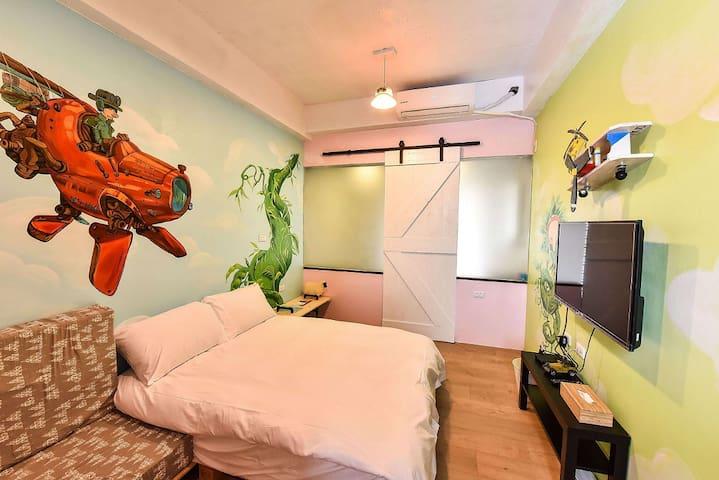台南安平包棟旅店8人--我小時候DesignHotel