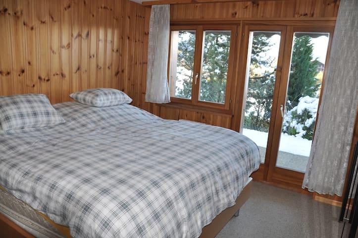 1ère chambre en bas Bedroom 1
