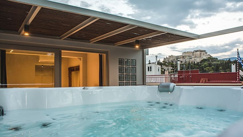 GRSTATH102-3 The Sidewalk Grand House with jacuzzi - Atenas - Villa