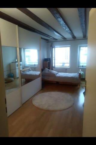 Frankfurt Top Lage: 1 sehr schönes Zimmer (Altbau)