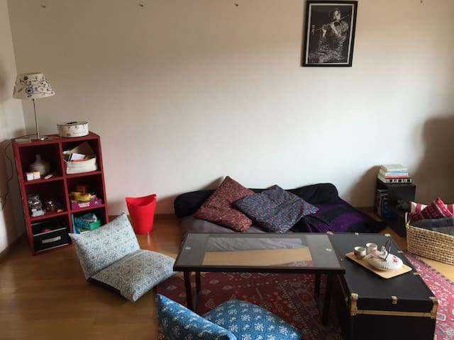 Big bright apartment near subway - Fukuoka - Pis