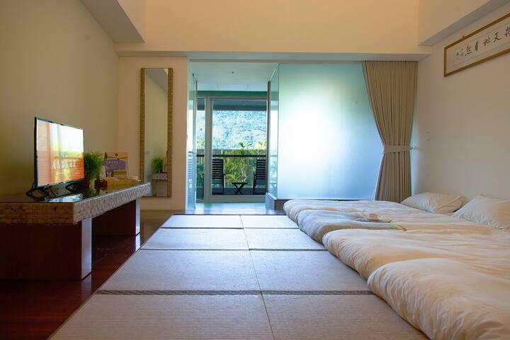 每天可欣賞熱氣球飛行的溫泉客房 / TT-2鹿泉和室四人客房(含早餐)