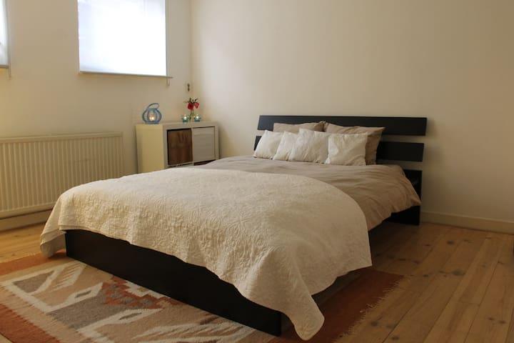 Cosy room + garden close to city and Sonsbeek park - Arnhem - Casa a schiera