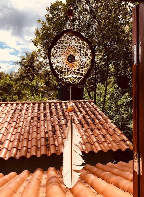 vista da janela do mezanino