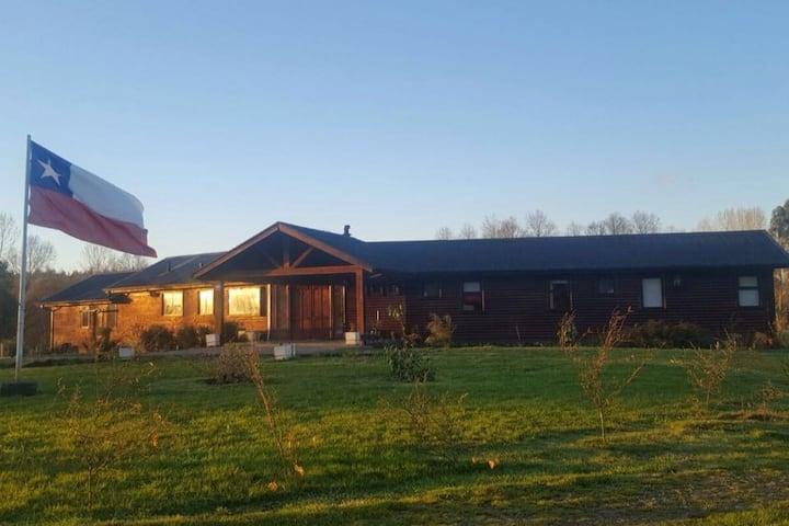Mulpulmo Lodge, descanso en el campo sureño