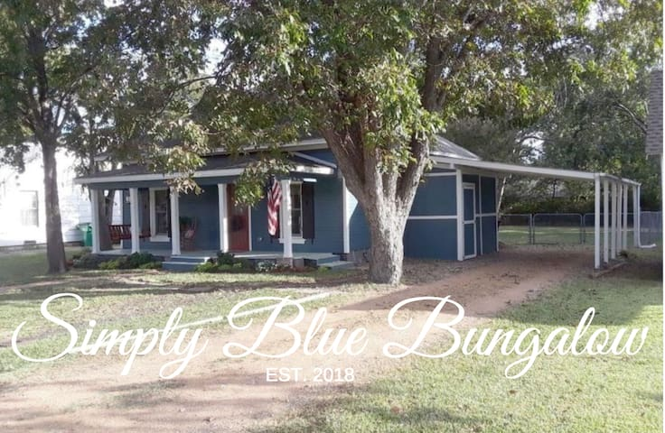 Simply Blue Bungalow