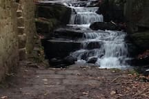 Beautiful waterfall in lumadale. A  a short walk from the cottage