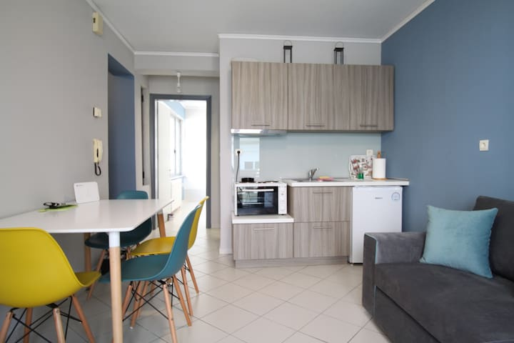 Centrally located newly renovated apartment