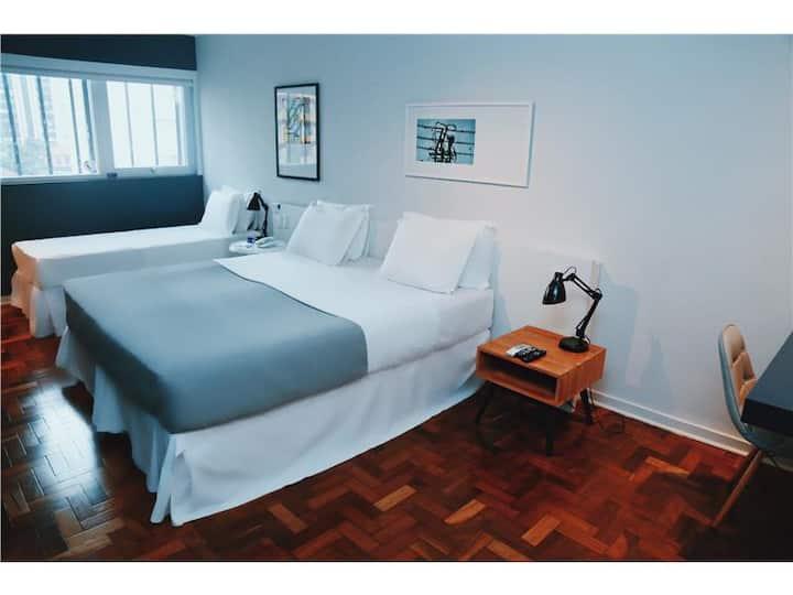 Bê Hotel - Apartamento Triplo Casal