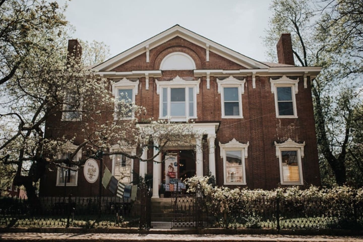 The Matthew Kennedy house was built in 1818 by Kennedy for his residence and office. He was the first known architect in Lexington.