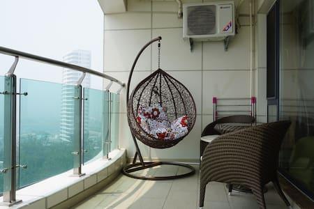 临海精装温馨小宅 完美观景阳台 - Qinhuangdao - Apartment