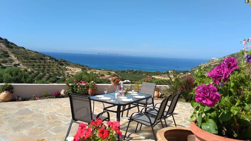 ☀️【VALUE】Anna's Family House*Sitia View*Garden!