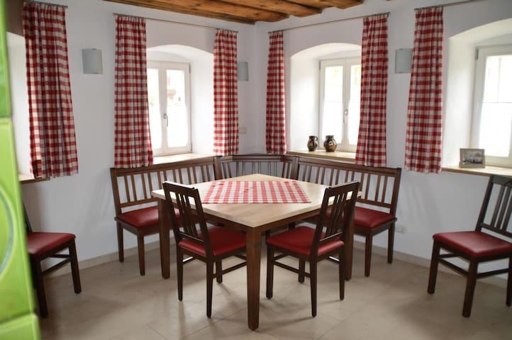 Ferienhaus auf dem Bauernhof - Pappenheim - Casa