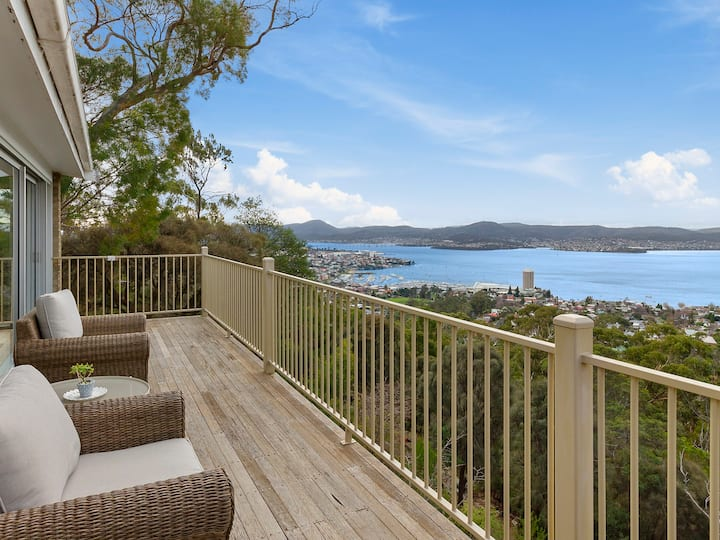 Spectacular Mount Nelson home with water views